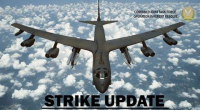 Watch: Airstrikes, More B-52s to the Fight, and a Update on American and Coalition Forces in the Fight Against Daesh [ISIS/ISIL]