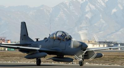 Super Tucano Attack Aircraft Over Afghanistan!