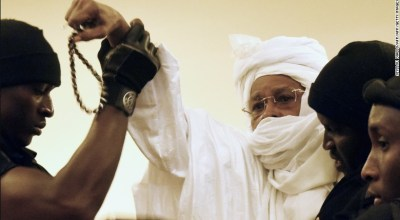 Ex-Chad dictator sentenced to life for war crimes