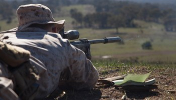 M40 Sniper Rifle Guides Marines to Target
