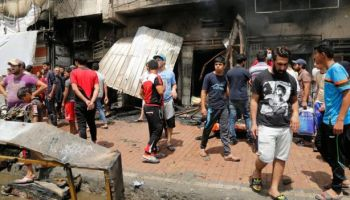 Deadly blasts kill at least 90 in northern Baghdad