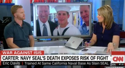 Watch: Former Navy SEAL Eric Davis on CNN discussing the heroism of Navy SEAL Charles Keating IV