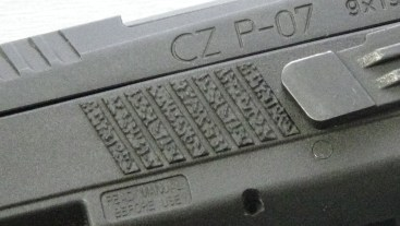 CZ P-07 texture