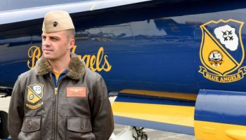 Pilot identified after deadly Navy Blue Angel crash