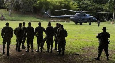 Colombia army helicopter crashes, killing 17