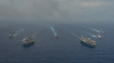 US Navy Pivots to Asia with Dual Aircraft Carriers