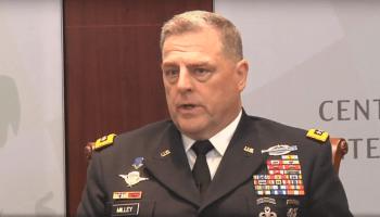 Gen Milley explains establishment of advisory briigades.