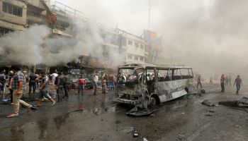 Suicide Bombings In and Around Iraqi Capital Kill 31 People