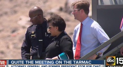 Lynch to accept FBI recommendations amid controversy following meeting with former President Clinton