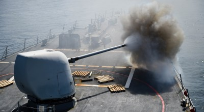 British press freak out – Inept media believes naval 5-inch guns are literally 5-inch guns