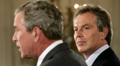 Long-Awaited Official U.K. Inquiry Damns the Blair-Bush War in Iraq