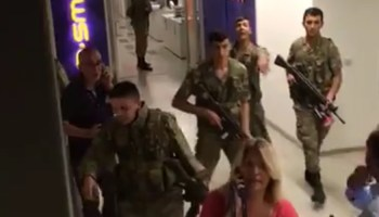 Turkish Special Forces and civilians retake CNN Türk amidst coup
