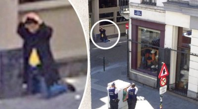Bomb scare in Brussels as man wears winter coat with wires protruding out