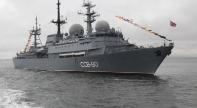 Russian spy ship now off Hawaii, U.S. Navy protecting 'Critical Information'