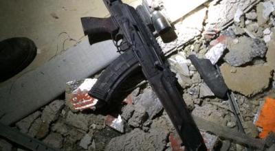 Exclusive: Photo of the Saiga AK-74 Rifle used at Dallas Shooting
