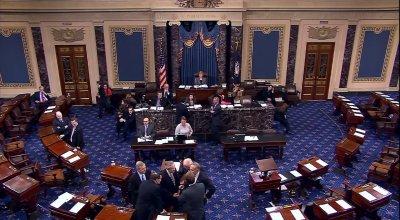 Senate fight stalls funding for troops, veterans