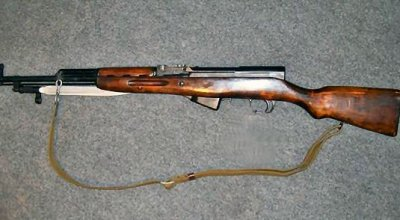 Antique SKS rifle used by the Dallas police killer?