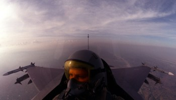 Fighter Pilot's tale: A night mission over Iraq in the F-16