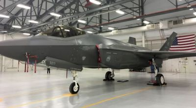 A close-up look at the F-35A, the Air Force's next-gen jet