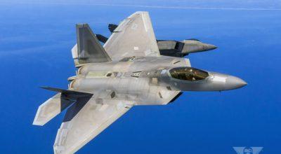 "F-22 Raptors ""Encourage"" Syrian Su-24's To Leave"