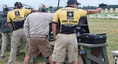 Watch: Meet the U.S. Army Marksmanship Unit Soldiers competing on Team USA in the 2016 summer Olympics