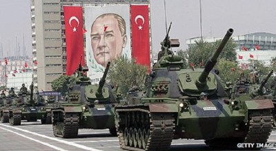 Turkey advances into Syria to remove Assad, not ISIL