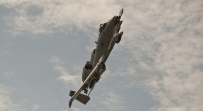 Watch: Army Sniper and an A-10 Warthog go to town in Afghanistan -BRRRRT! . . . Pew!