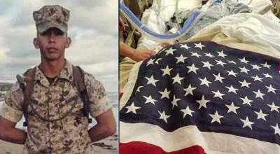 US Marine shot in the head while on military leave in Los Angeles