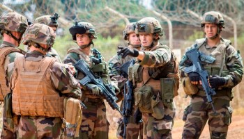 Watch: 2nd REP, French Foreign Legion, maneuvers under DShK fire in Afghanistan