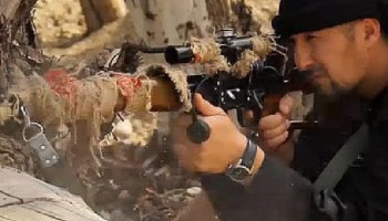 US-trained police sniper Colonel Gulmurod Khalimov made 'ISIS minister of war'