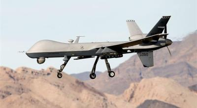 Syrian government forces target US spy drones over Syria's Dayr al-Zawr province