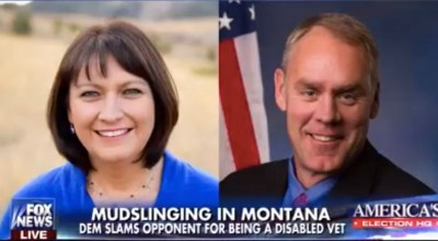 Congressman and former Navy SEAL Zinke's challenger attacked his disabled veteran status