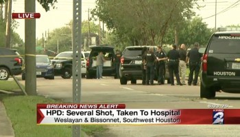 Updated: Active shooter reported at a Houston strip mall, at least 9 people injured