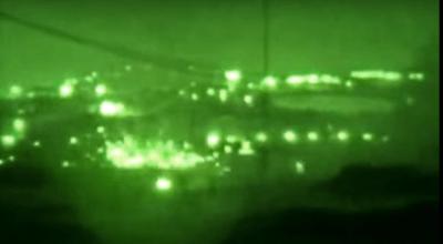 Watch: 6 mins of pure NV bad guy pounding -Little Bird, Cobra, Night vision attack, IRAQ