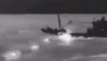 Watch: Firefight with a North Korean spy craft