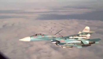 Russian SU-27 Intercepted U.S. Patrol Aircraft; Fighter Escorts Needed