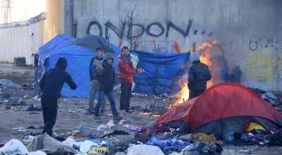 A 10,000-person migrant camp in France known as 'the Jungle' is about to be razed