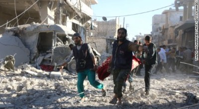 Syria: Hospital attacked as regime makes gains in Aleppo