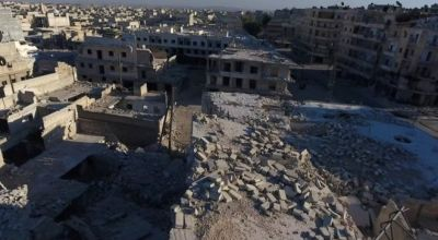 Syria conflict: Aleppo hospital 'hit by barrel bombs'