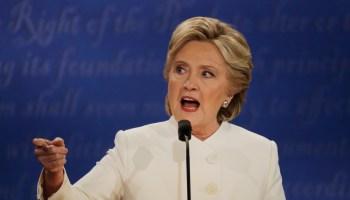 Did Hillary leak classified nuke secrets at the debate?