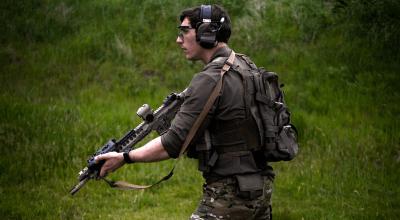 Watch: Daniel Defense MK18 with Surefire SOCOM Suppressor