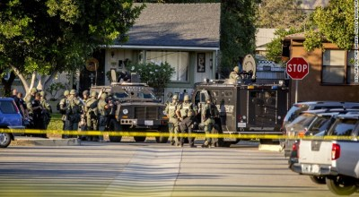 Shooting near California polling station: One dead and three wounded