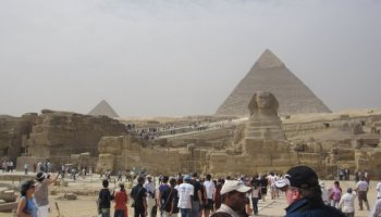 Failing to find the Egypt I'd seen on TV: A Marine at the Pyramids of Giza