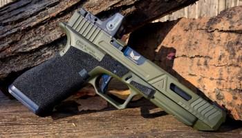 A Ranger's Glock 34 handgun