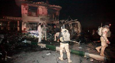 Suicide truck bomb kills about 100 in Iraq, mostly Iranian pilgrims