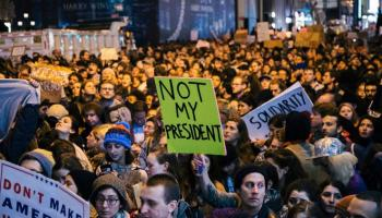 Voter turnout: Some Americans would rather protest than participate