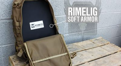 AR500 Armor | Rimelig Backpack IIIA Soft Body Armor