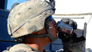 Mainstream media patronizes us about energy drinks, service members still dying from real problems