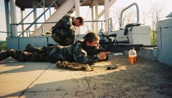 The Army Marksmanship Unit cross-trains 3/75 Ranger Snipers