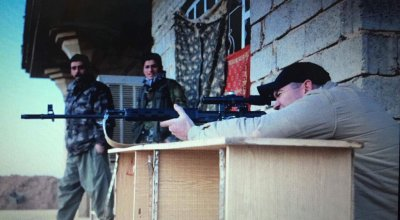 Marine veteran and reporter takes heat for shooting at ISIS